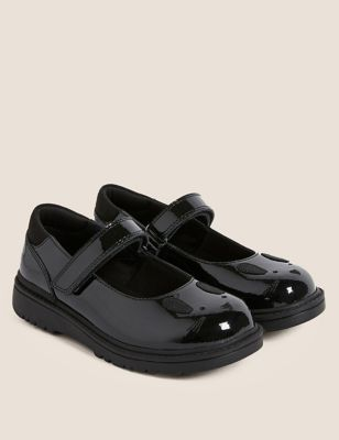 Kids' Leather Rabbit School Shoes (8 Small - 1 Large)
