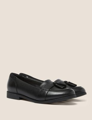 Kids' Leather Freshfeet™ Loafers (13 Small - 7 Large)