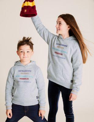 Harry Potter™ Cotton Spells Slogan Hoodie (6-16 Yrs)