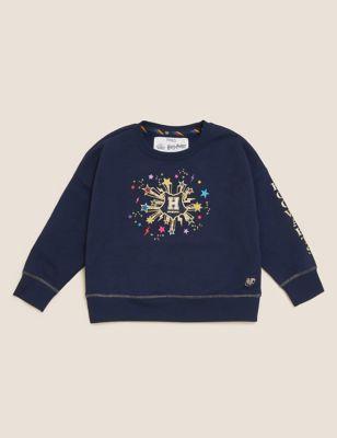 Harry Potter™ Cotton Star Sweatshirt (2-16 Yrs)