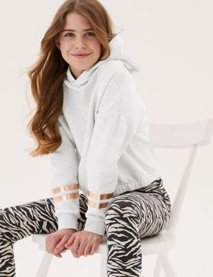Cotton Long Sleeve Hoodie (6-16 Yrs)