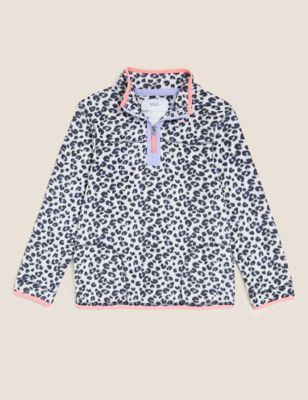 Leopard Print Fleece (2-16 Yrs)