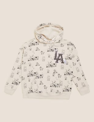 Cotton Snoopy™ Sequin Hoodie (6-16 Yrs)