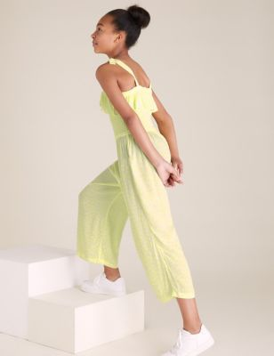 Printed Frill Jumpsuit (6-14 Yrs)