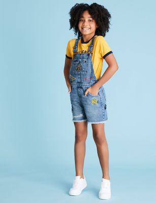 Harry Potter™ Embroidered Dungarees (6-16 Yrs)