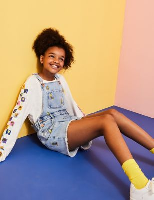Space Jam: A New Legacy™ Denim Dungarees (6-16 Yrs)