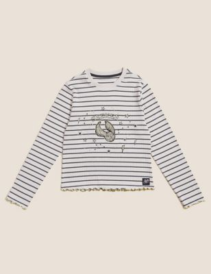 Harry Potter™ Golden Snitch Cotton Top (2-16 Yrs)