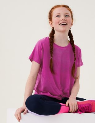 Knot Front Sports Top (6-16 Yrs)