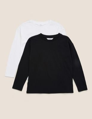 2 Pack Cotton Tops (6-16 Yrs)