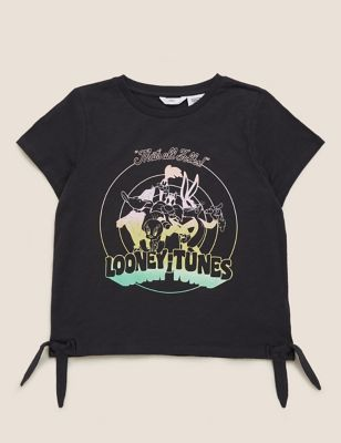 Pure Cotton Looney Tunes™ T-Shirt (6-16 Yrs)