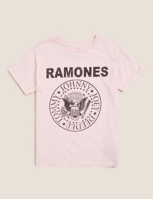 Pure Cotton Official Ramones™ T-Shirt (6-14 Yrs)