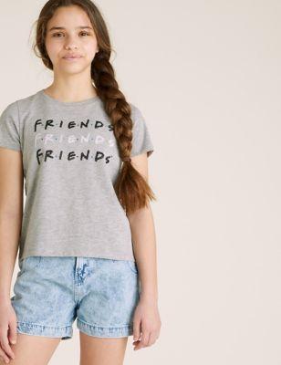 Cotton Friends™ Sequin T-Shirt (6-16 yrs)
