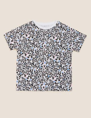 Pure Cotton Butterfly Print T-Shirt (6-16 Yrs)