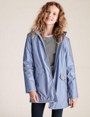 Stormwear™ Metallic Hooded Fisherman Jacket (6-16 Yrs)