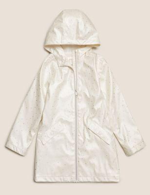 Foil Spot Fisherman Coat (6-16 Yrs)