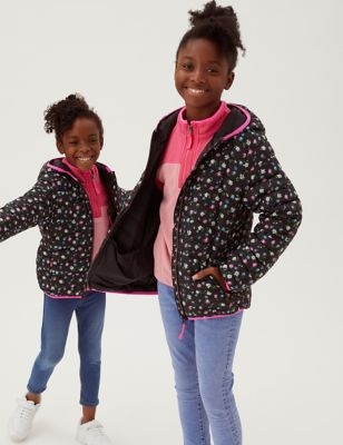 Stormwear™ Lightweight Padded Floral Jacket (2-16 Yrs)