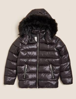 Stormwear™ Hooded Padded Coat (6-16 Yrs)