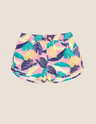 Palm Swim Shorts (6-14 Yrs)