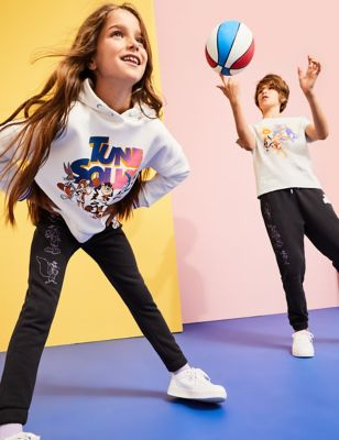 Space Jam: A New Legacy™ Cotton Joggers (6-16 Yrs)