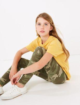 Camouflage Print Leggings (6-16 Yrs)