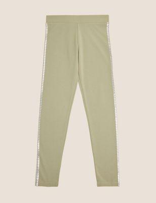 Star Side Stripe Leggings (6-16 Yrs)