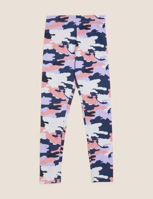 Cotton Camouflage Leggings (6-16 Yrs)