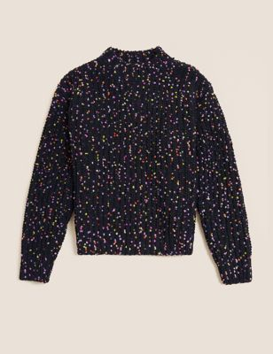 Chenille Multicoloured Jumper (6-16 Yrs)