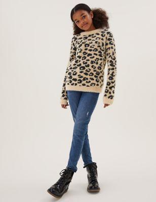 Leopard Jumper (6-16 Yrs)