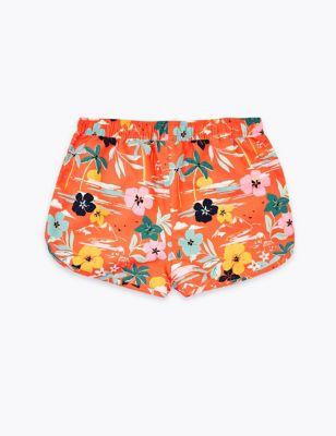 Tropical Swim Shorts (6-16 Yrs)