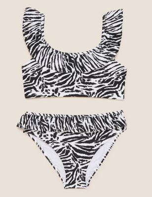 Zebra Bikini (6-14 Yrs)