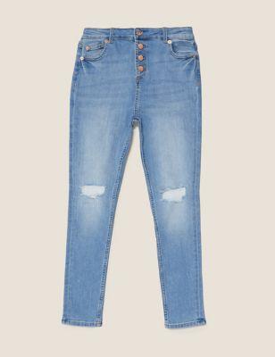 Mini Ivy Skinny Light Denim Jeans (6-16 Yrs)