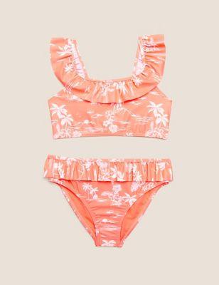 2pc Tropical Bikini (6-14 Yrs)