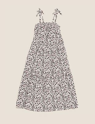 Animal Print Maxi Dress (6-16 Yrs)