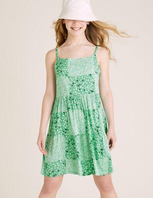 Floral Dress (6-16 Yrs)