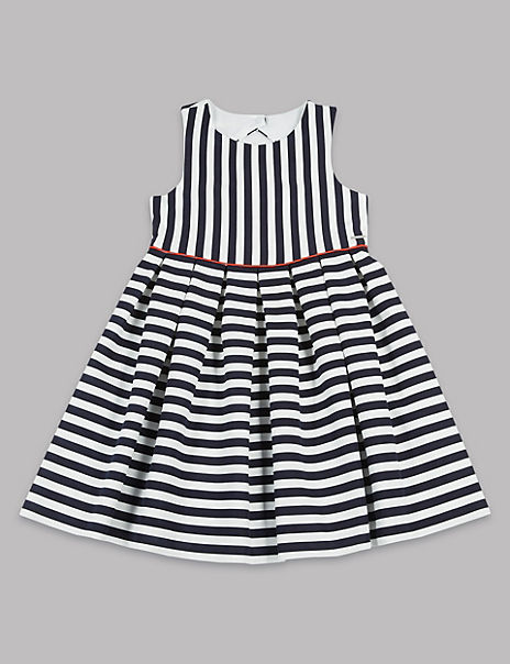 Striped Prom Dress (3-16 Years)