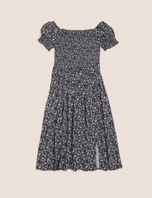 Paisley Floral Midi Dress (6-16 Yrs)