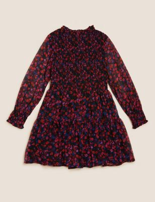 Floral Tiered Dress (6-16 Yrs)