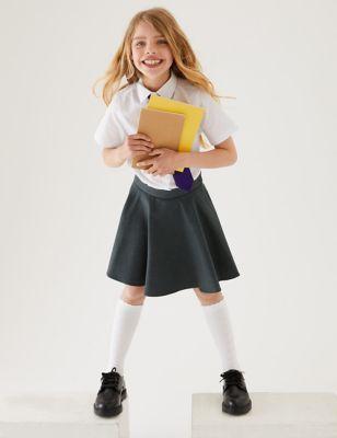 Girls' Skater School Skirt (2-16 Yrs)