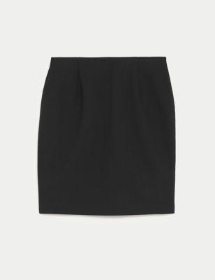 Girls' Short Pencil School Skirt (9-16 Yrs)