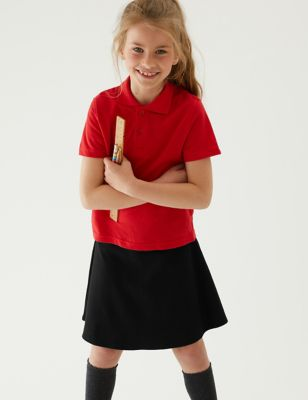 Girls' Cotton School Skort