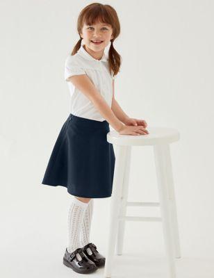 2pk Girls' Regular Fit School Skater Skirts (2-18 Yrs)