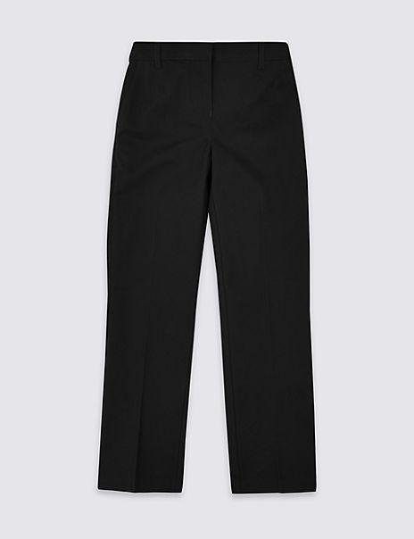 Girls Skin Kind™ Cotton Regular Trousers