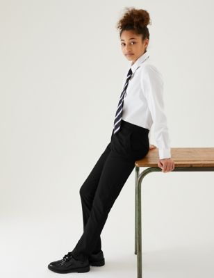 Girls' Super Skinny Leg School Trousers (2-18 Yrs)