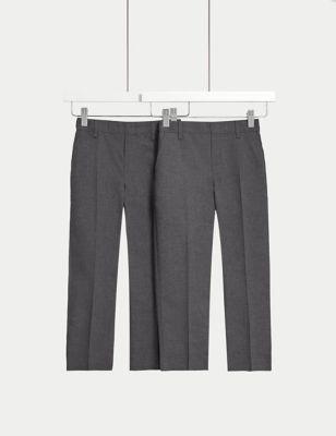 2pk Boys' Adaptive School Trousers