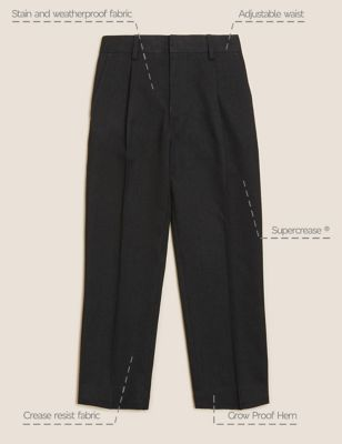 Boys' Regular Leg School Trousers