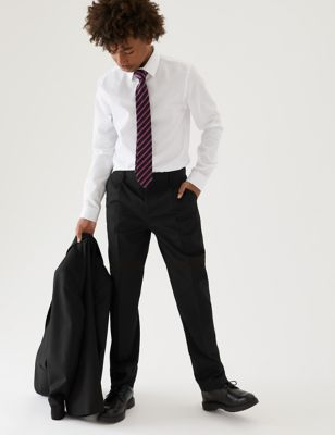 Boys' Regular Leg Additional Length Trousers (2-16 Yrs)