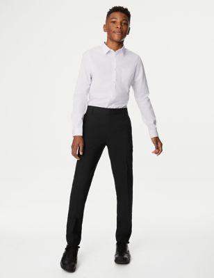 Boys' Super Skinny Longer Length Trousers (2-18 Yrs)