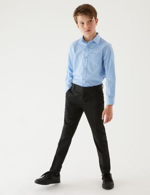 Boys' Skinny Leg School Trousers