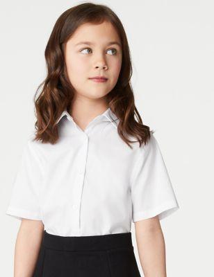 2pk Girls' Skinny Fit School Shirts (2-18 Yrs)