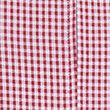Girls' Gingham Pleated Zip School Playsuit (2-14 Yrs) - red